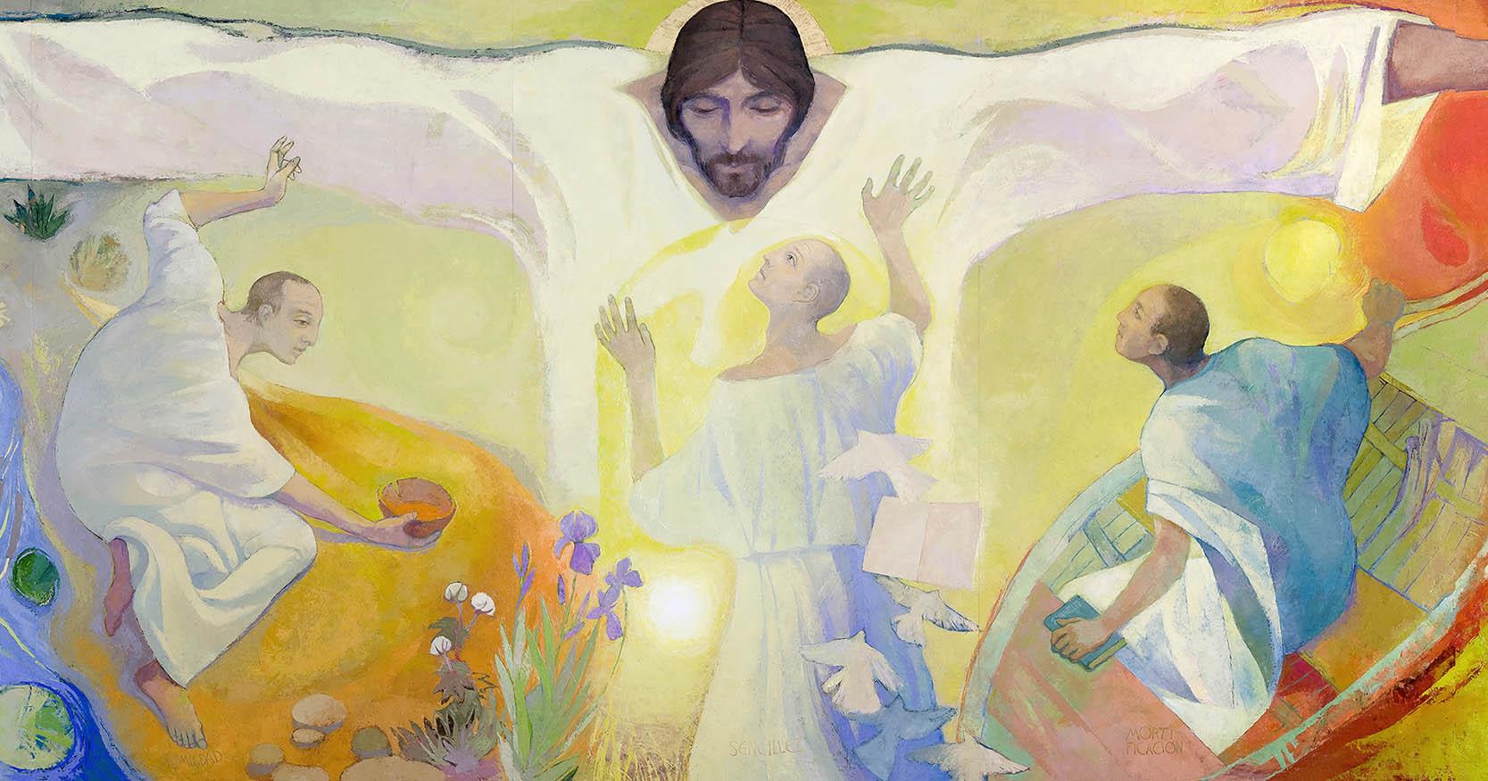 El Cristo de las virtudes vicencianas FB