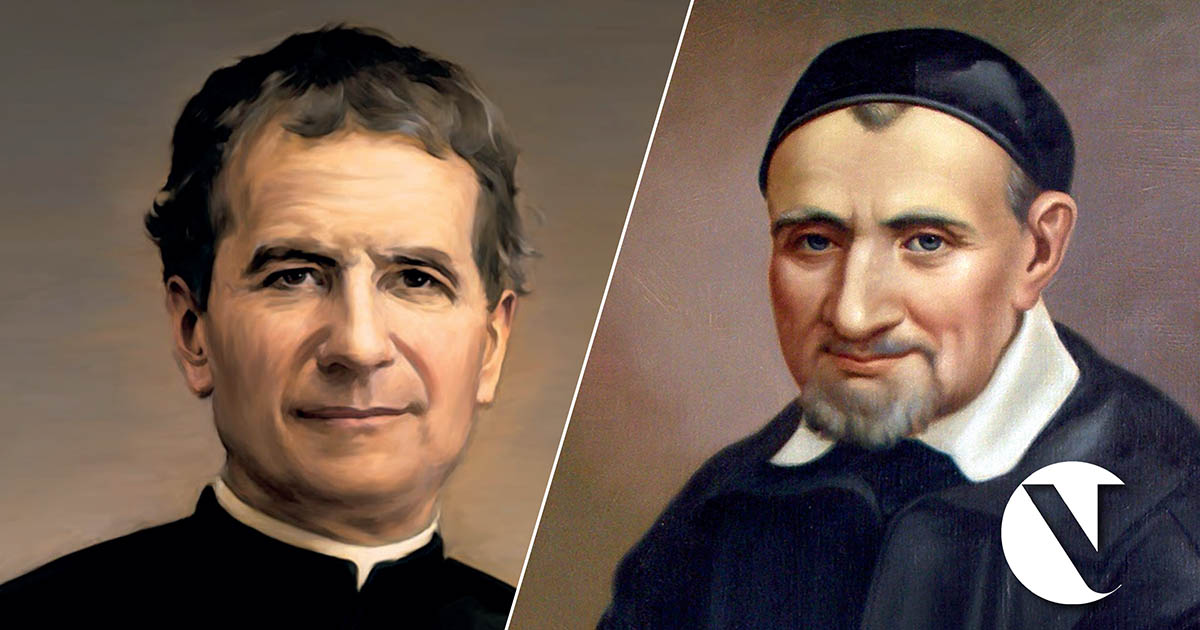 don bosco y san vicente de paul